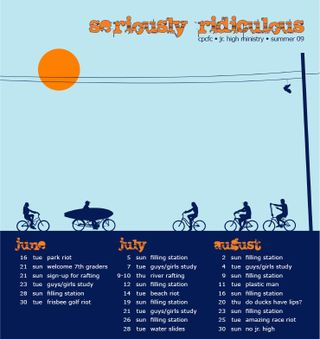 Jr high summer calendar 09